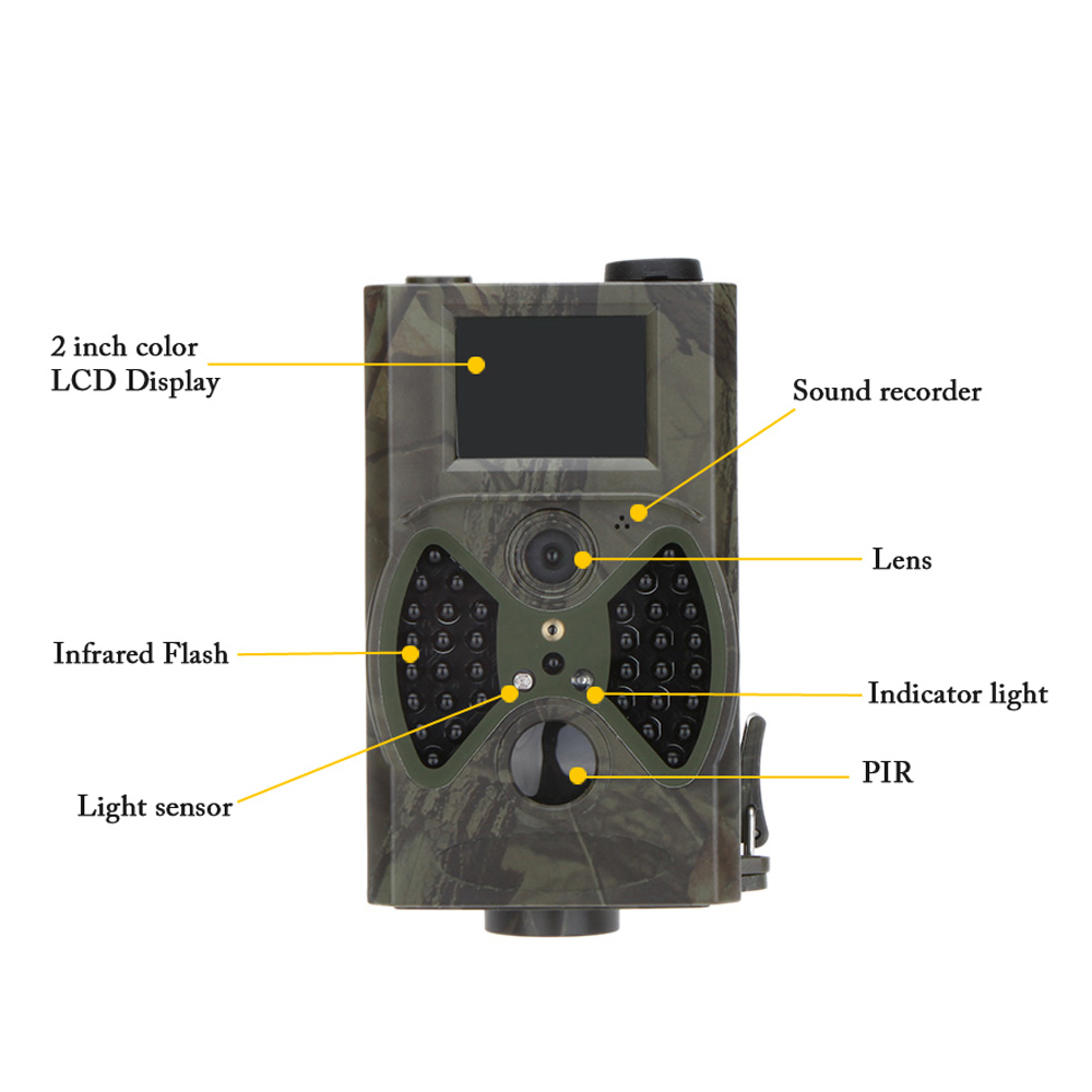 HC-300A 12MP Wireless Hunting Trail Camera Photo Trap Animal Trail Camera Night Vision Infrared Scouting Camera