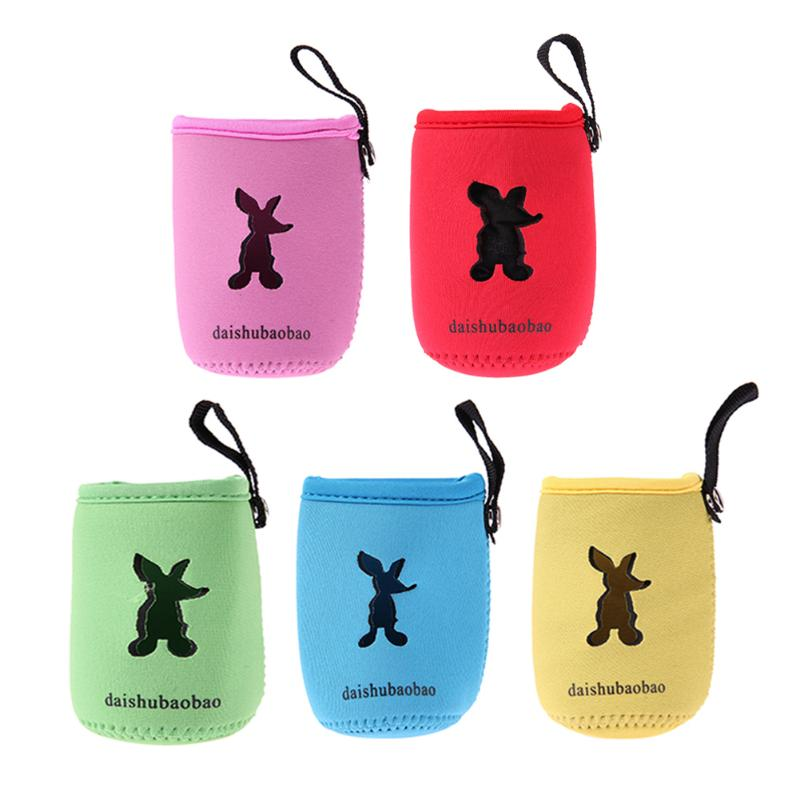 10*7cm Milk Bottle Insulation Bag Cup Hang Keep Milk Warmer Mummy Pouch Thermal Bottle Cover Insulated Bag For Baby Feed Drink