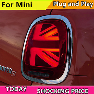 Image 2 - 자동차 스타일링 LED 테일 램프 BMW F55 F56 F57 테일 라이트 2013 now 미니 리어 라이트 DRL + 턴 시그널 + 브레이크 + 리버스 LED 라이트