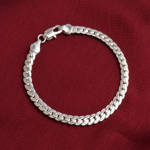925 Silver Charms Bracelet 5MM