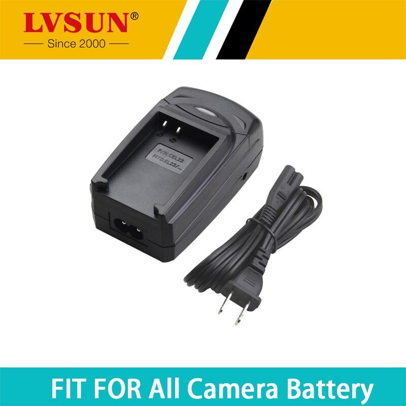 LVSUN Universal EN-EL23 ENEL23 EN EL23 Portable Car Camera Battery Charger For Nikon Coolpix P600 P610 P900 P900s S810c P610s