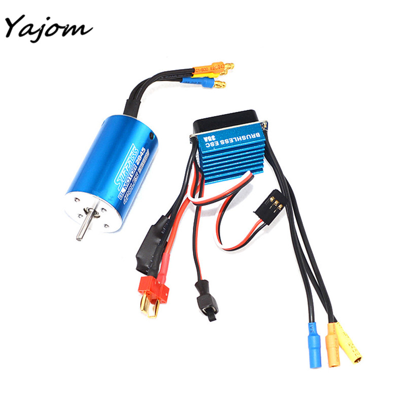 Free for shipping MOTORE CLASSIC BRUSHLESS SENSORLESS 2845 3100KV + Sensorless 35A Brushless ESC Brand New High Quality May 4