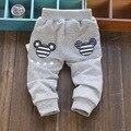 Дети брюки 2015 новый горячая продажа весной и осенью мальчик девочка брюки хлопок детские брюки 1 шт. 0-2 год гарем брюки детские спортивные штаны