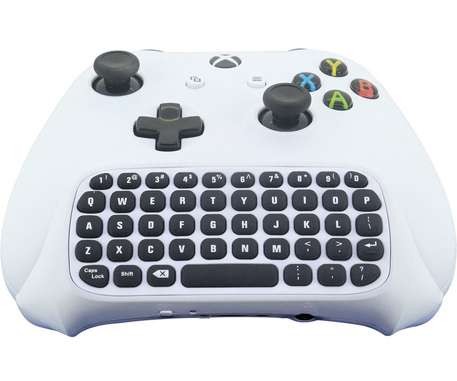 US $16 7 33% OFF|47 keys Wireless Keyboard Game Accessories with 2 4G  Receiver for XBox One/XBox One S Controller Wireless Controller-in  Replacement