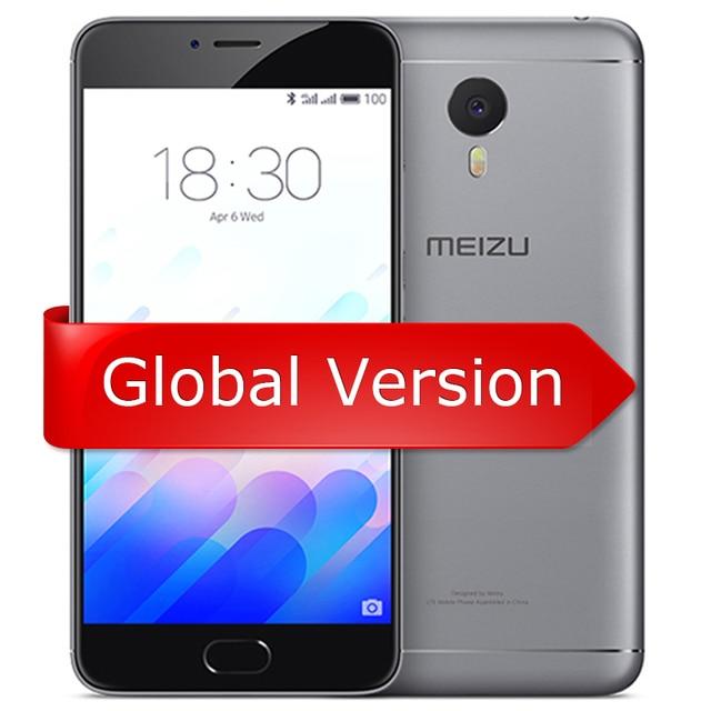"""Оригинал Meizu M3 Примечание Глобальный Версия 4 Г LTE Сотового Телефона Helio P10 Octa Ядро 5.5 """"FHD 3 ГБ 32 ГБ Отпечатков Пальцев 4100 мАч смартфон"""