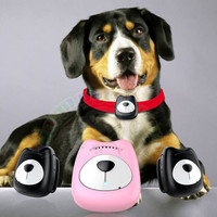 Pet Dog Cat GPS Tracker Waterproof Tracking Collar For Dog Real Time Free APP Mini Track Alarm Device Anti fall Pink Black
