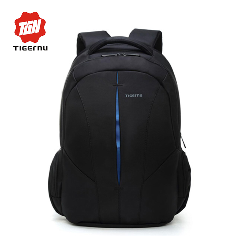 ФОТО 2017 Tigernu Brand waterproof 15.6inch laptop backpack men backpacks for teenage girls summer backpack bag women+Free gift
