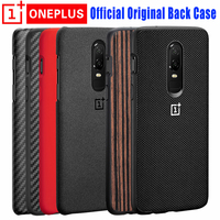 Oneplus 6 Case 100 Original Official Sandstone Karbon Wood Silocne OnePlus6 Nylon Case One Plus 6