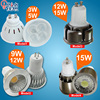3w 5w led spotlight 9w 12w 15w led cob spotlight bulb GU10 MR16 LED lamp ac 110v 220v 240v super bright led light