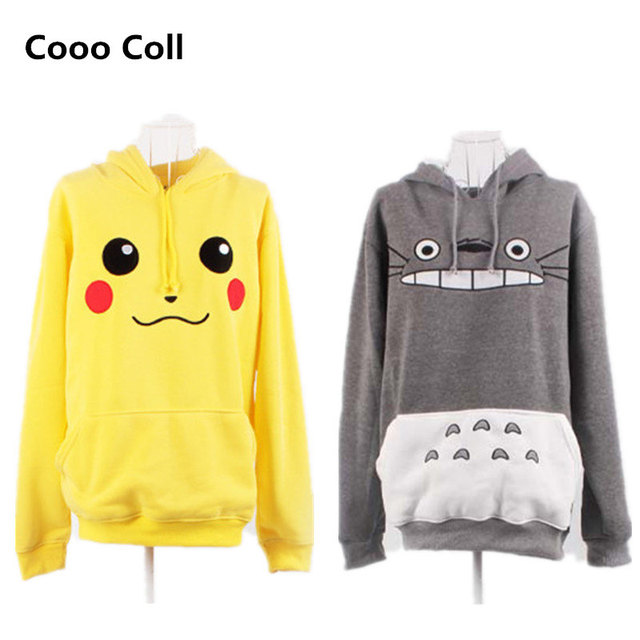 Pokemon Totoro Cosplay Hoodie Sweatshirt