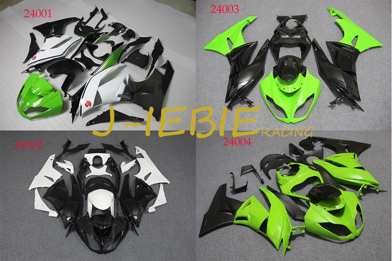 ABS Injection Fairing Body Work Frame Kit for Kawasaki NINJA ZX6R ZX 6 R 2009 2010 2011 2012