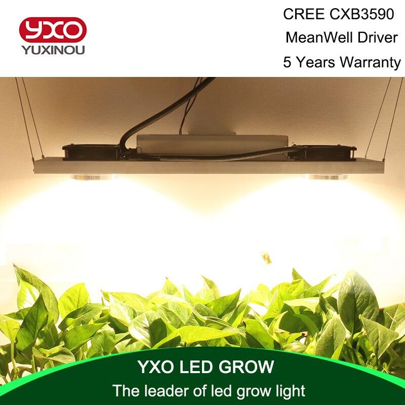 Cree Cxb3590 200w Cob Led Grow Light Full Spectrum