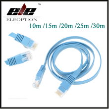 High Speed Cat6 Ethernet Flat Cable RJ45 Computer LAN Internet Network Cord 10m 15m 20m 25m 30m