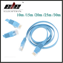 High Speed Cat6 Ethernet Flat Cable RJ45 Computer LAN Internet Network Cord 10m 15m 20m 25m 30m