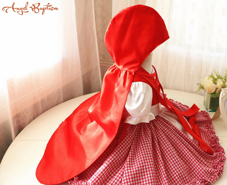 Little Red Riding Hood Halloween Costume Dress and Cape christmas Halloween Dress Toddler Baby Girl Dress for Birthday Party ems dhl free shipping toddler s little girl s tull dress princess birthday party masquerade rapunzel cosplay halloween wear