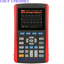 Wholesale Handheld Digital Storage Oscilloscopes UNI-T UTD1050CL 3.5″LCD Digital display Fully Auto Scale Oscilloscopes With  multimeter