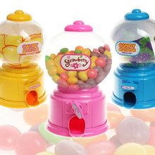 1Pc Cute Mini Piggy Twist Candy Machine Dispenser Coin Saving Bank Money Storage Box Cases Gifts For Kids Toy(China)