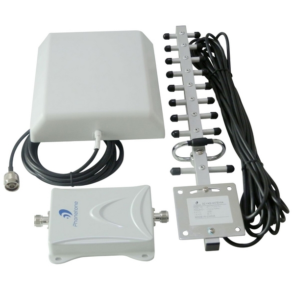 Best 70dB repetidor  gsm 1800MHz cell phone signal booster 4g lte amplifier 3g  yagi antenna