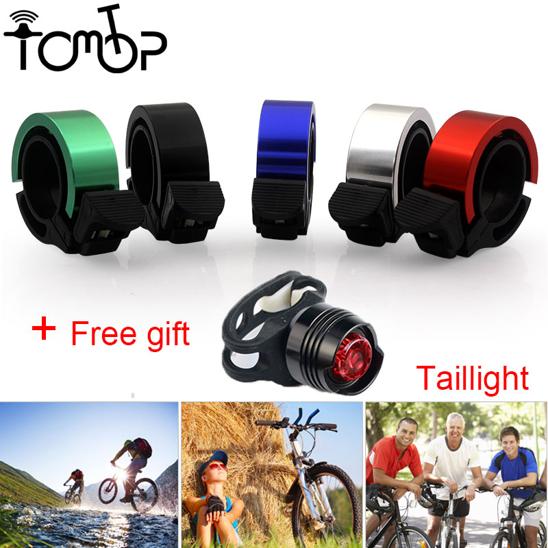 ZK30 Mini Aluminum Alloy Bike Handlebar Bicycle Bell Loud Road Bike Handlebar Ring Bells Cycling Alarm Horn Sound Accessories