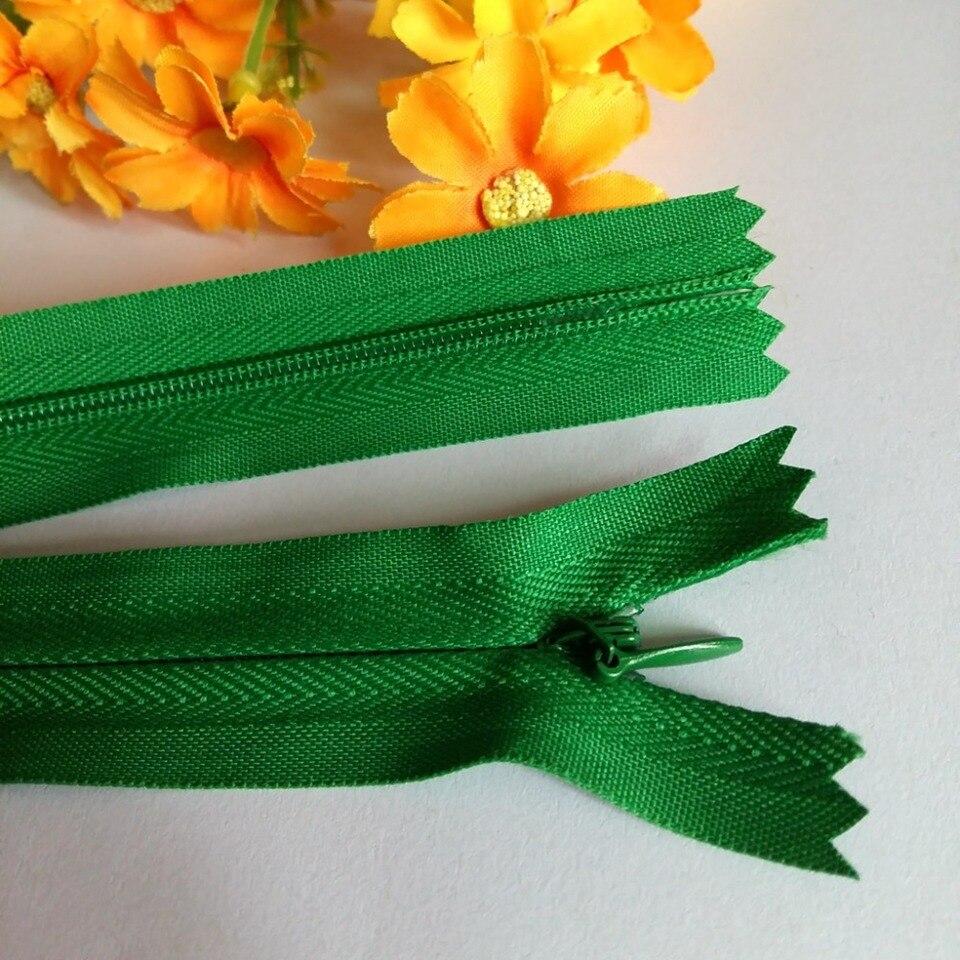 No.3 Nylon Extremo Cerrado Cojín Cremalleras Pinlock Menta Verde 30cm A Granel Oferta Especial!