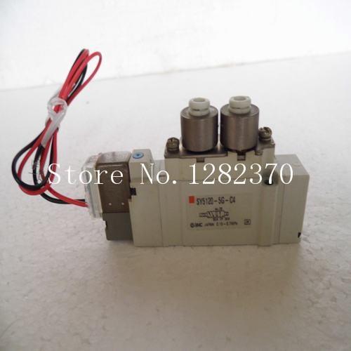 [SA] New Japan genuine original SMC solenoid valve SY5120-5G-C4 spot --5pcs/lot [sa] new japan genuine original smc solenoid valve syj5523 4g c4 spot