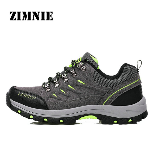 ZIMNIE Brand Men&Women Hiking Shoes Breathable Waterproof Men Outdoor Sport Shoes High Quality Women Climb Women Sports Footwear