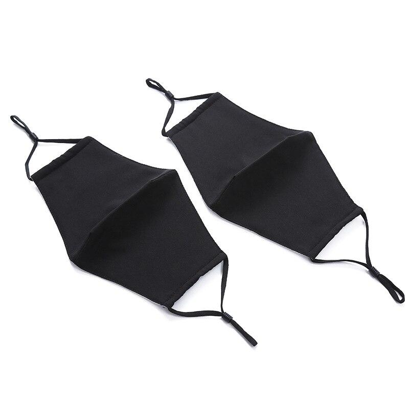 1 Pcs Stück Sonnenschutz Maske Sommer Im Freien Baumwolle Schwarz Staubdicht Nase Maske Mode Reusable Maske Männer Und Frauen