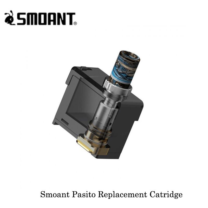 Newest Cartridge Smoant Pasito Replacement Catridge 3ML Capacity Mesh 0.6ohm/Ni80 1.4ohm Coil For Smoant Pasito 1100mAh Pod Kit