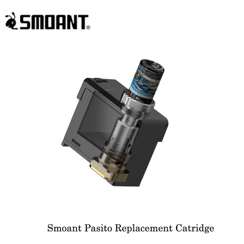 Newest Cartridge Smoant Pasito Replacement Catridge 3ML Capacity Mesh 0.6ohm/Ni80 1.4ohm Coil For Smoant Pasito 1100mAh Pod Kit
