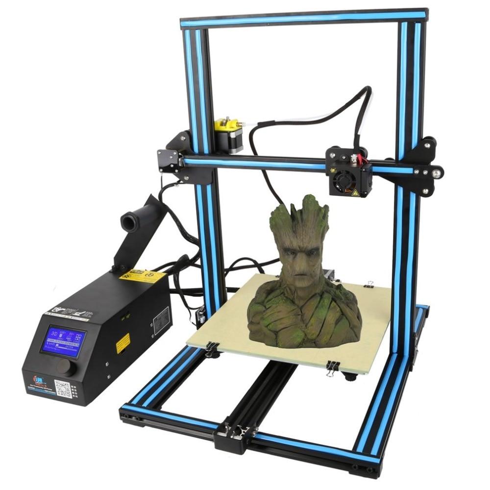 (Ship From DE) New Creality High Precision Industrial Grade Large Printing Size DIY Desktop LCD Screen Display 3D Printer CR-10