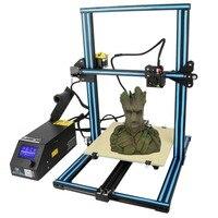 (Ship From DE) New Creality High Precision Industrial Grade Large Printing Size DIY Desktop LCD Screen Display 3D Printer CR 10