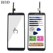 5.5 mobile mobile painel da tela de toque móvel para doogee x55 tela sensível ao toque sensor do painel de toque de vidro frontal reparo do écran sensível ferramentas gratuitas