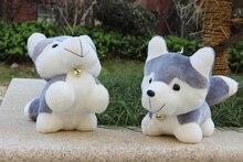 Husky dogs lying lovely dog toys grey cute dog toy birthday gift about 38cm