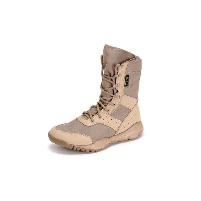 Botas de senderismo impermeables para hombre zapatos de senderismo de monta a transpirables de cuero