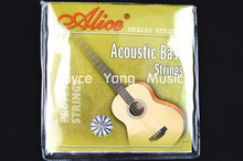 Alice A618-L Acoustic Bass Strings 4 Strings Bass Hexagonal Core Strings 040-095 Free Shipping Wholesales