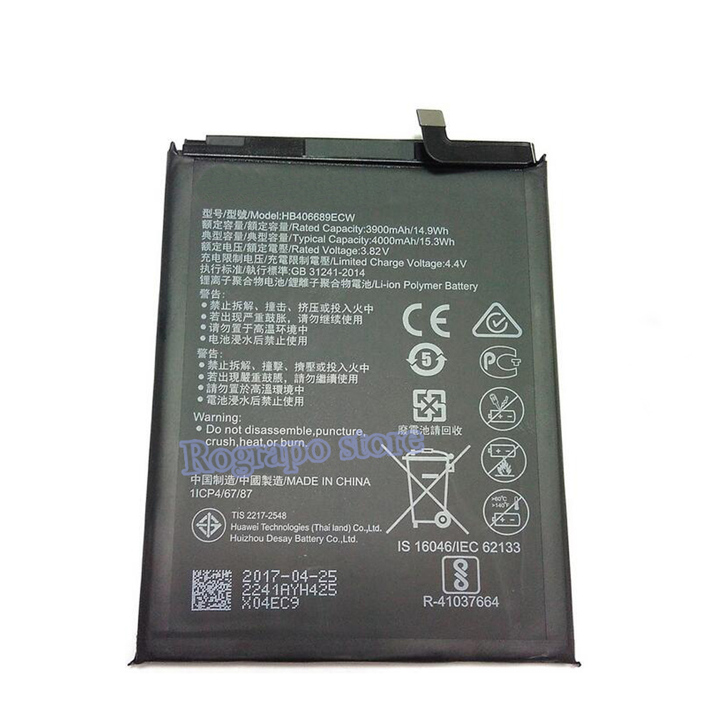 Professional Sale Hua Wei Original Phone Battery Hb396689ecw For Huawei Mate 9 Mate9 Real 4000mah High Quality Replacement Batteries Cellphones & Telecommunications