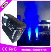 2 шт./лот 24 шт. * 3 Вт RGB противотуманная машина 1500 Вт DMX светодиодный эффект Fogger вертикальный дым машина для Хэллоуина decoratio