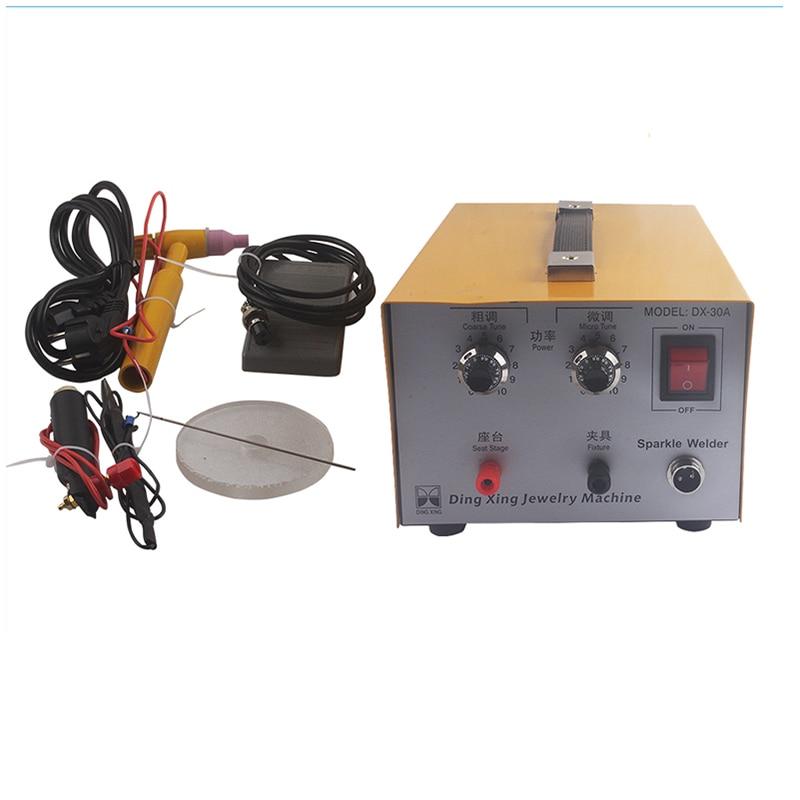 Hot sale jewelry laser welder,DX-30A handheld mini laser spot welder,welding machine price low 220V 110V hot sale cheap home jewelry laser engraving machine