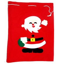 1 Piece Random Pattern Christmas Santa Claus Large Gift Bags Christmas Tree Ornaments Supplies Creative Kids Funny Novelty Toys