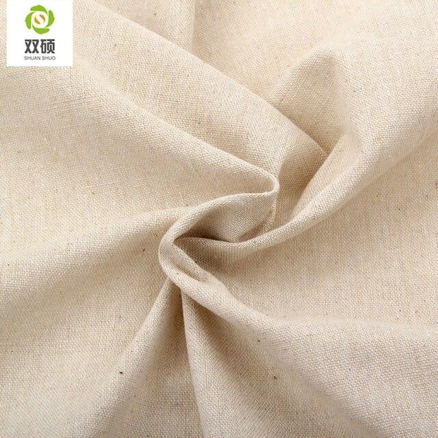 Tissu De Lin De Couleur Naturelle Qualités Tissu De Lin Pour Rideaux,  Canapé, Sacs