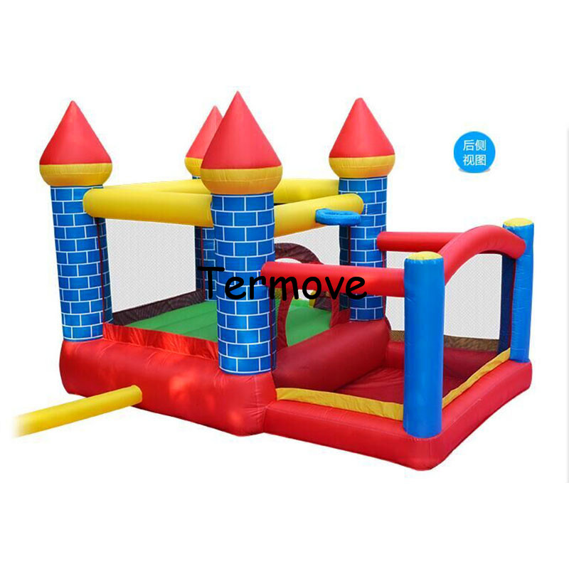 mini Bounce House Inflatable Trampoline Bouncer indoor Moonwalk Jumping Bouncy Castle For Kids inflatable space jump castle цена