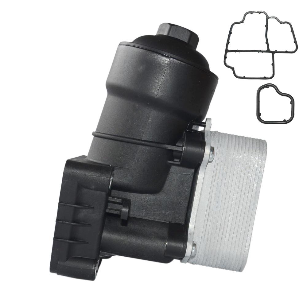 cheapest AP01 New 03L 115 389 B C G H Oil filter assembly For AUDI A3 A4 VW SEAT SKODA 1 6 2 0 TDI  03L 115 389 B 03L 115 389 C
