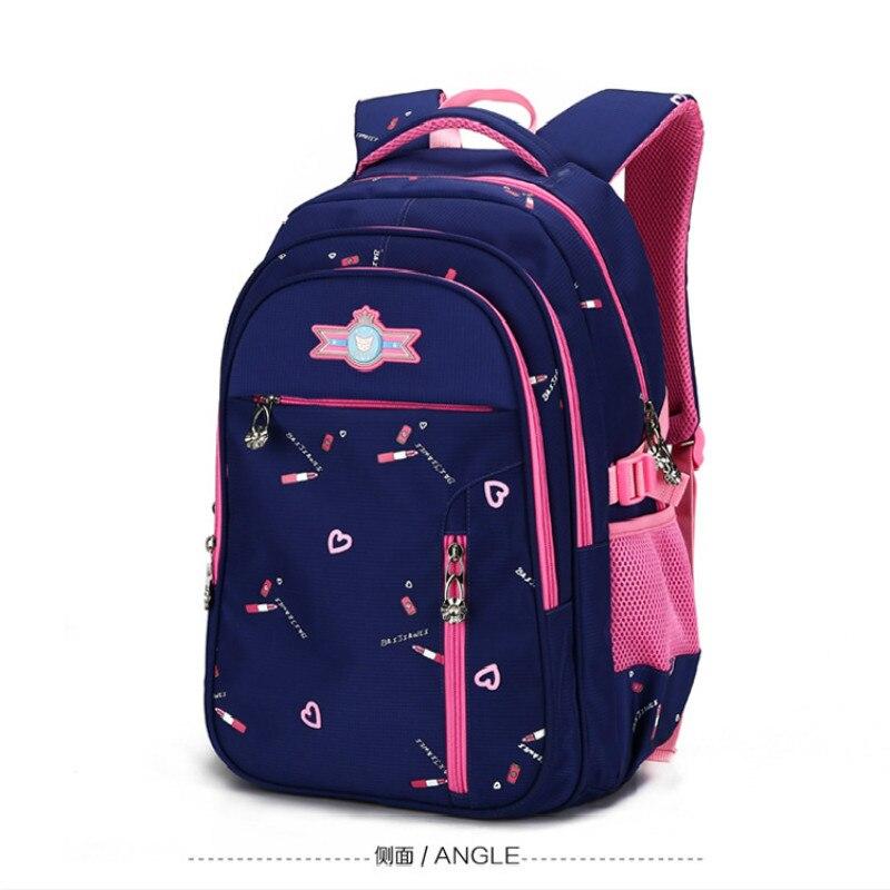 f85437ff2c31 Детские школьные сумки для девочек Начальная школа рюкзак ортопедическая  школьная сумка рюкзак детский Ранец bookbag mochila