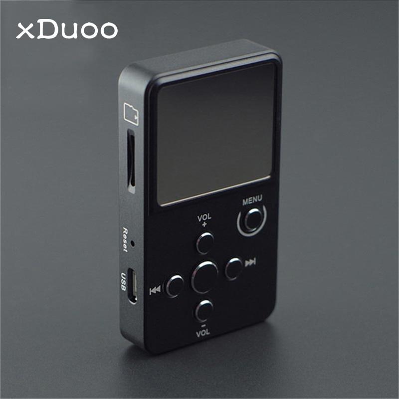 XDUOO X2 Metal HIFI MP3 Player Professional Lossless Audio Player 0.96 OLED Screen Support 32GB TF Card MP3 WMA APE FLAC WAV xduoo x2 metal hifi for mp3 player mp4 professional lossless audio player 0 96 oled screen support 32gb tf mp3 wma ape flac wav