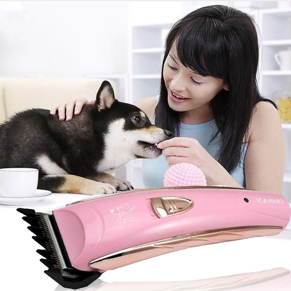 Professional Electric Hair Clipper Dog Machine To Haircut Dogs Grooming Pet Trimmer Cat Animals Cutting Hairclipper Trimer professional 24w pet dog hair trimmer ceramic head clipper animal electric cat grooming hair cutter shaver razor w comb brush