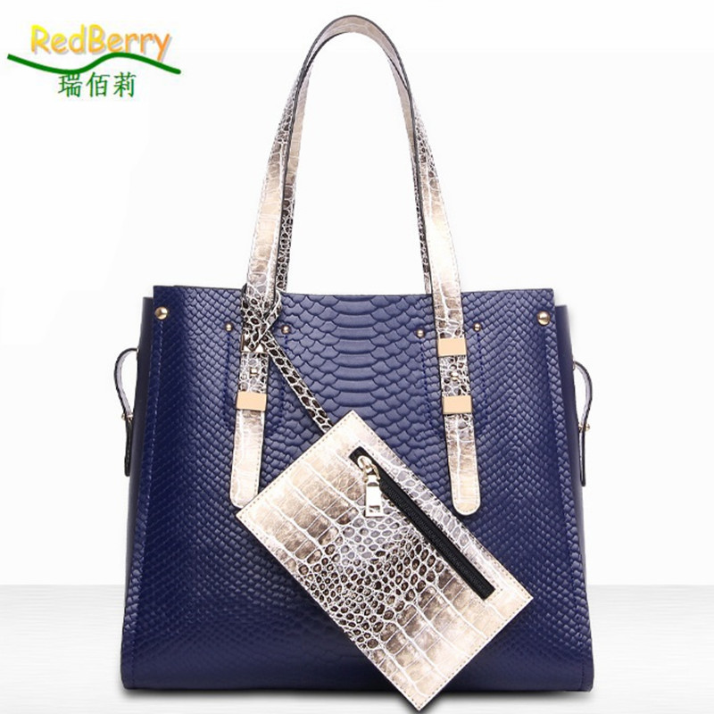 2015 Women Serpentine Bag Top PU Leather Handbag Shoulder New Arrival Crossbody Luxury Ladies Black Casual Tote Famous Brand