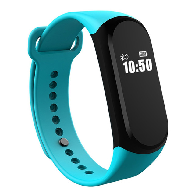Heart Rate Smart Band Watch A16 Sport Intelligent Bracelet Activity Wearable Device IP67 Waterproof Swim For iOS Android Xiaomi