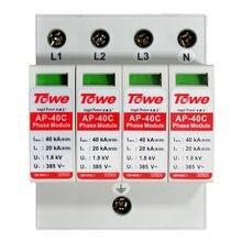 Устройство для защиты от перенапряжения 40c 4p 40ka