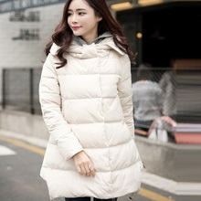New arrival winter women's down jacket maternity down jacket pregnancy outerwear parkas  warm clothing 70% duck down padding