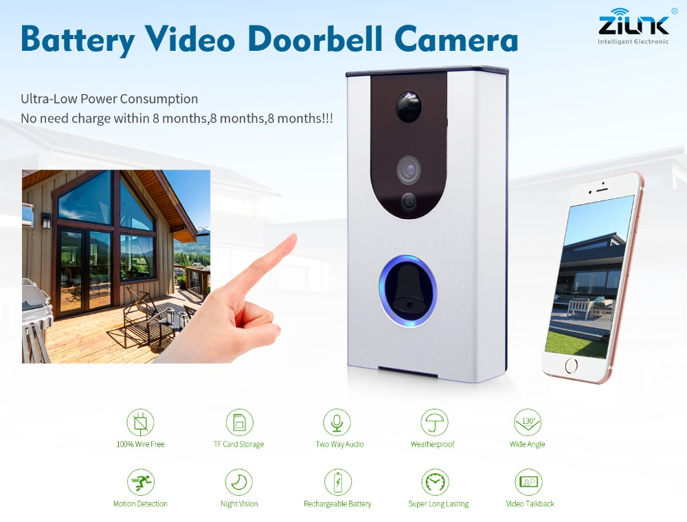 Battery Video Doorbell Camera _DB31S_by Zilink_Banner